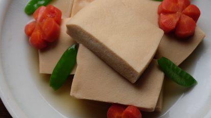 高野豆腐の含め煮
