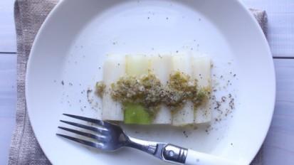 白葱のサラダ