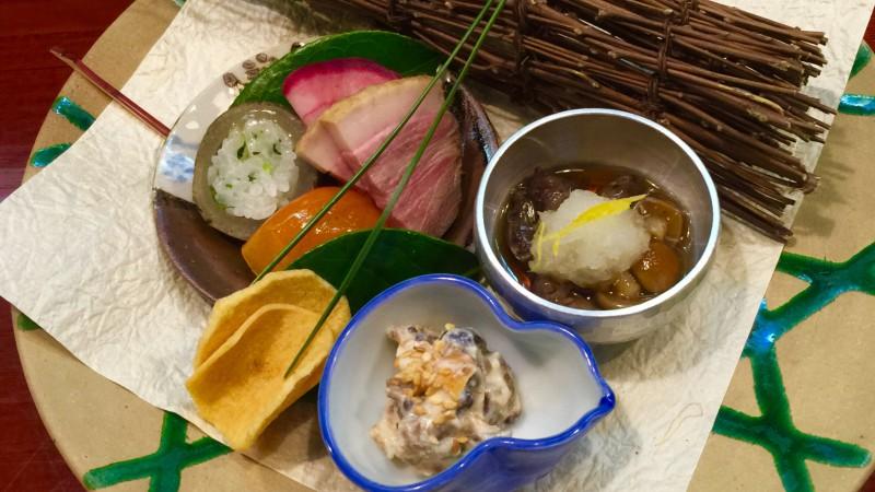 祇園でご飯食べ