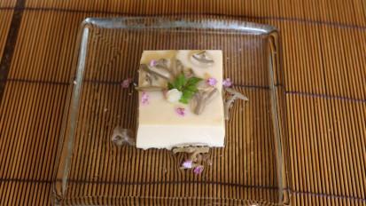 卵豆腐 じゅんさいのおつゆ