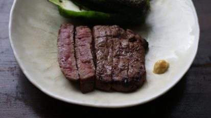 牛肉の味噌漬け