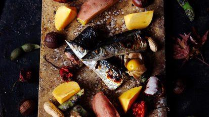 秋刀魚の照り焼き